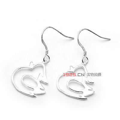 可爱小鸭耳环|韩国饰品批发|欧美饰品批发|头饰批发