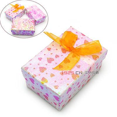 精美情侣戒指盒丝带花(已售完)|韩国饰品批发|欧美