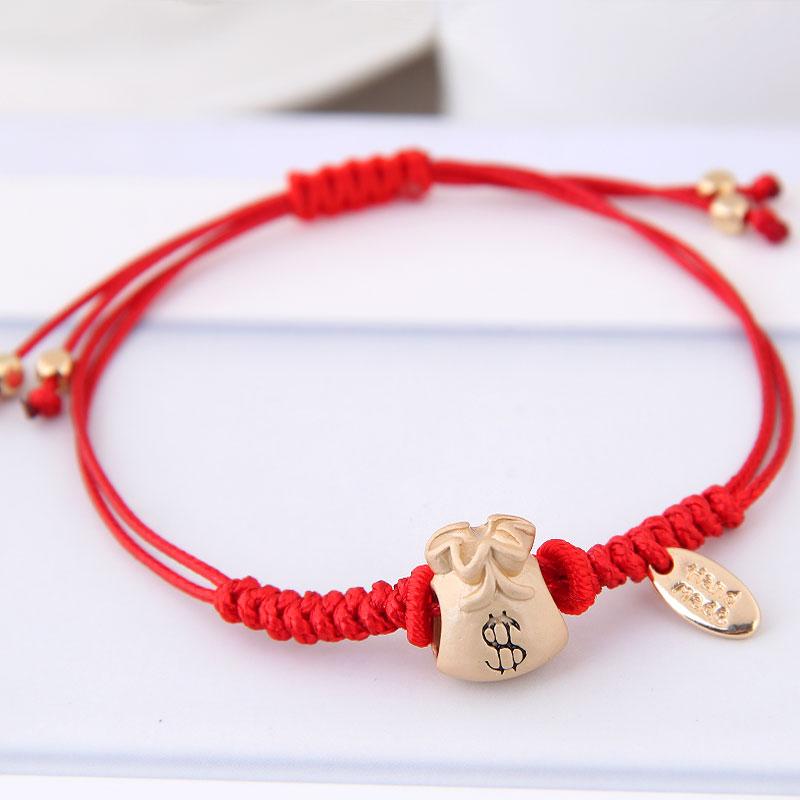 红绳|约5.3g-170*11mm