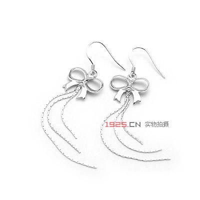 银饰耳环手绘效果图