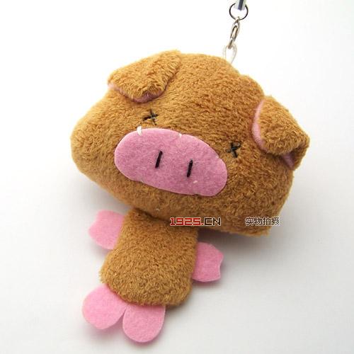 可爱猪宝宝挂件(手机挂件)(已售完)|韩国饰品批发