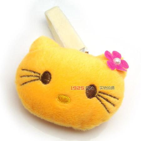 韩式可爱小猫咪包包/手机挂件(已售完)