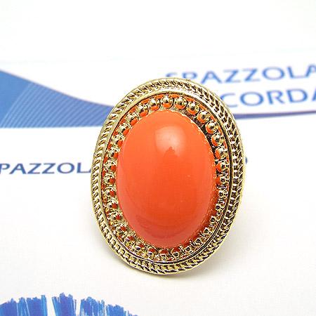 韩国明星-椭圆形宝石戒指