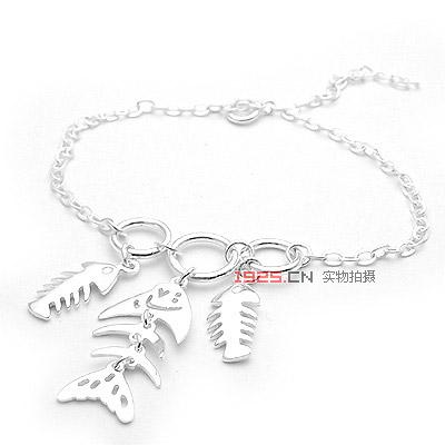 手链/项链/手镯 ->> 鱼骨手链   商品说明:  商品编号:zycyl_07051121