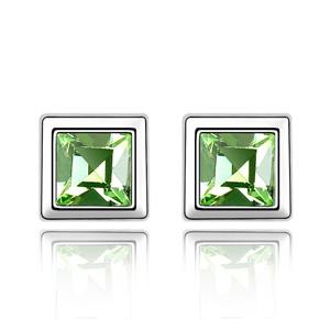 合金+水晶|约6.5*6.5mm